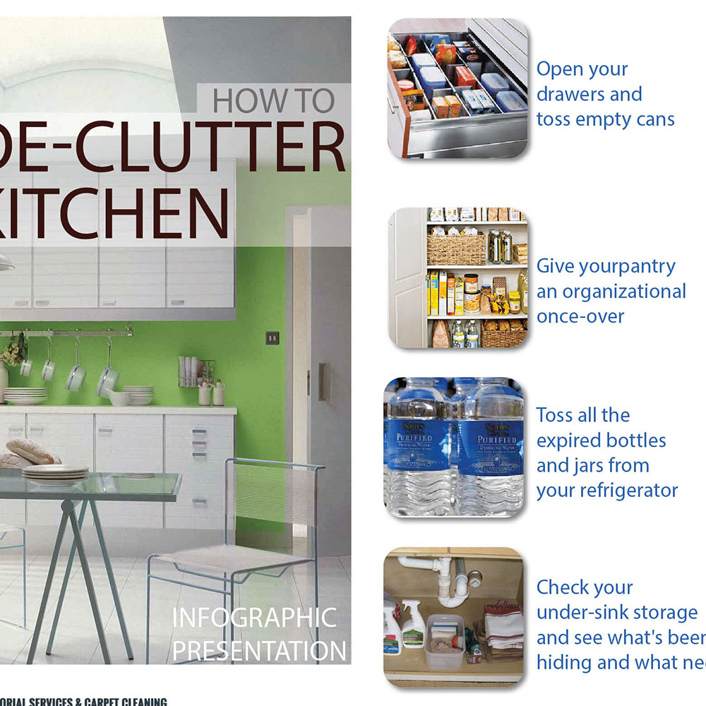 How to de-clutter kitchen