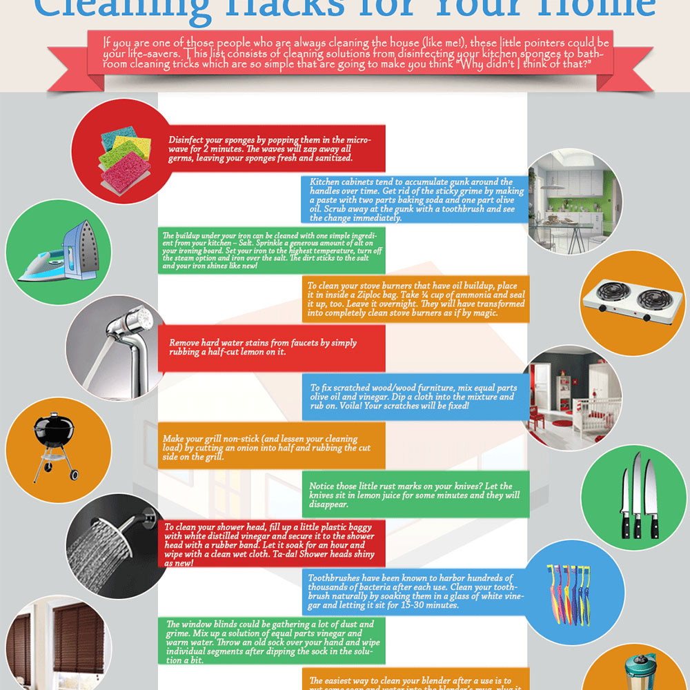 Cleaning Hacks for Your Home