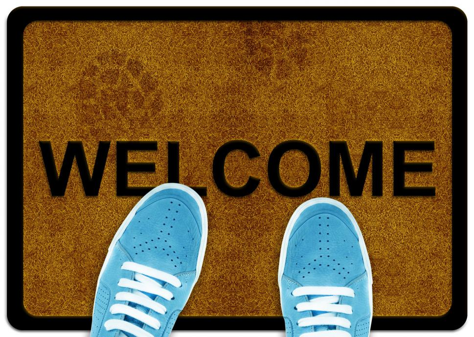 welcome-cleaning-foot-carpet